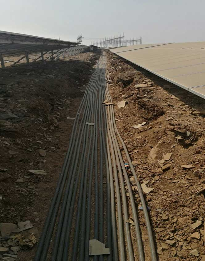 Trenching & Cabling works
