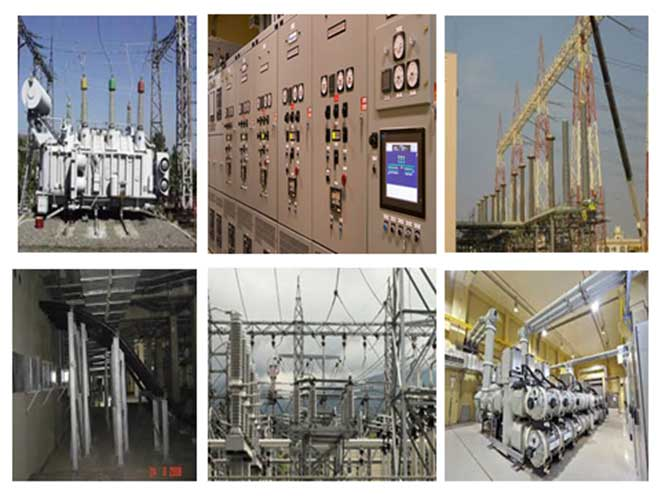 Glimpses of Substation works