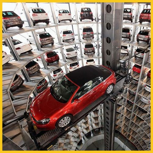 Fully Automated car parking system